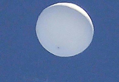 OVNI balão sobre Sendai no Japão