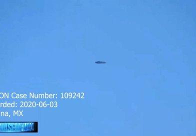 Vídeo de suposto disco voador feito no México, sobre a movimentada cidade de Tijuana, no dia 3 de junho, e submetido ao banco de dados da MUFON
