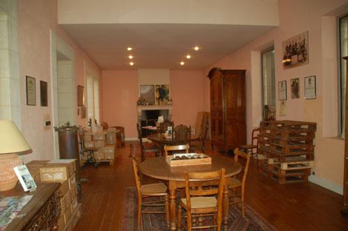 Salle degustation viticole