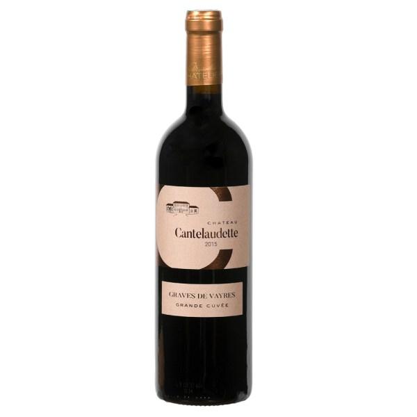 Bouteille de vin C Cantelaudette grande cuvée Graves de Vayres