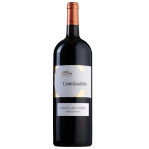 Magnum de vin rouge C Cantelaudette