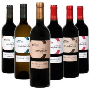assortiment de bouteilles de vins