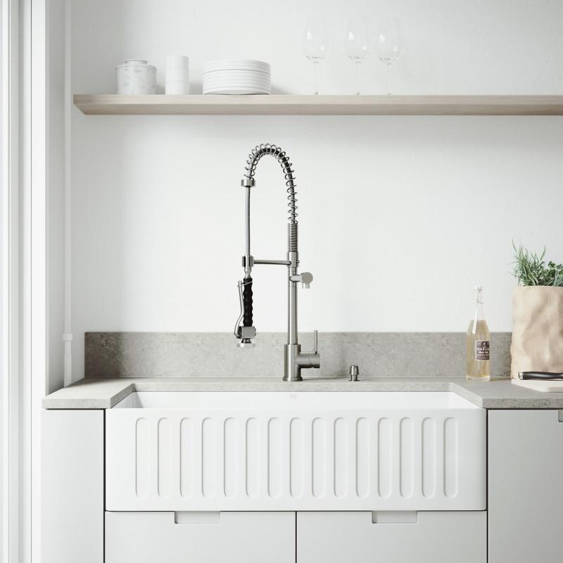 farmhouse kitchen sink set with zurich