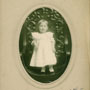 Baby portrait of Harriett Green