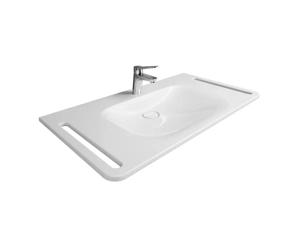 Waschbecken Unterfahrbar