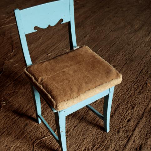 Istuintyynyt 40x35cm 70€|turkis + mokkanahka