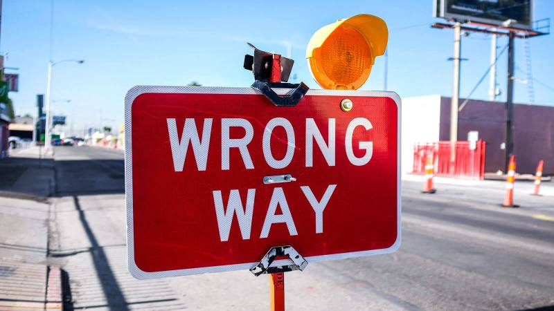 Going the wrong way is common for innovators
