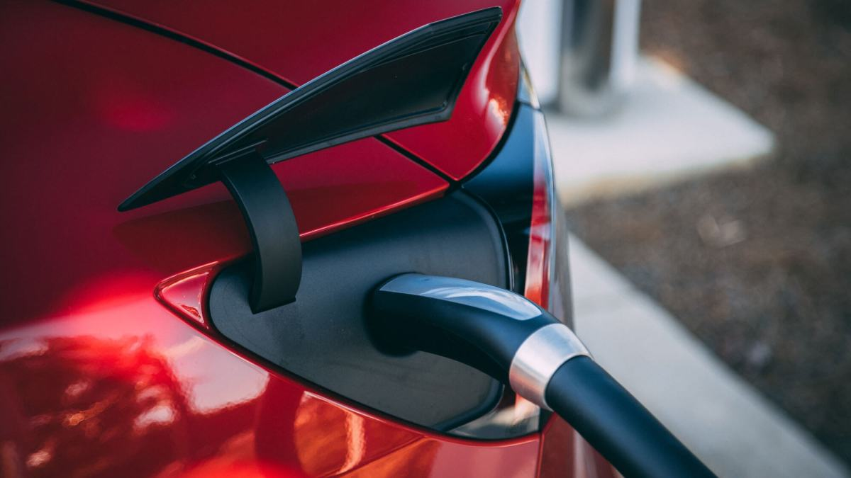 An electric vehicle benefits from good charging infrastructure