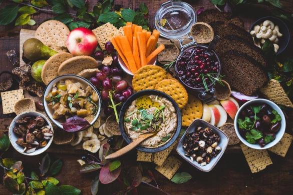 Vegaaninen snack board