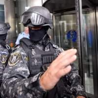 Perchiziții la mai multe unitati service și firme de pază din Ilfov