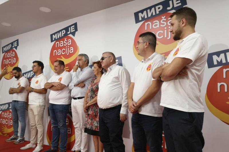 Iz izbornog štaba, Foto: Tina Popović