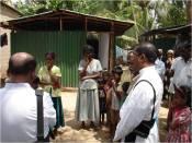 Vimalathas family with some Catholic Priests