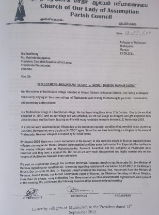 Appeal-letter-signed-by-136-villagers-from-Mullikulam-to-former-President-Rajapaksa-in-Sept.-2011-1-e1491475466378