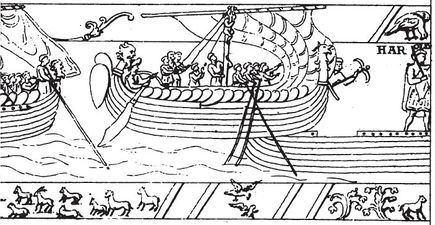 Reproductions Of The Bayeux Tapestry The Viking Age