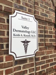 valley dermatology sign