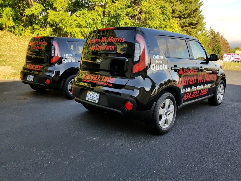 vehicle graphics state farm insurance