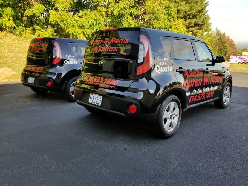 vehicle graphics state farm insurance