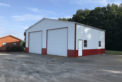 metal garage exterior