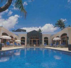 A view of Le Saint Geran Mauritius