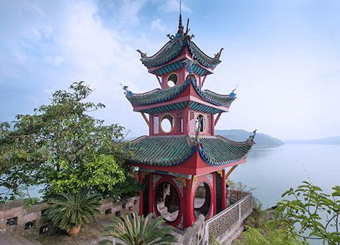 Shibaozhai Temple, China