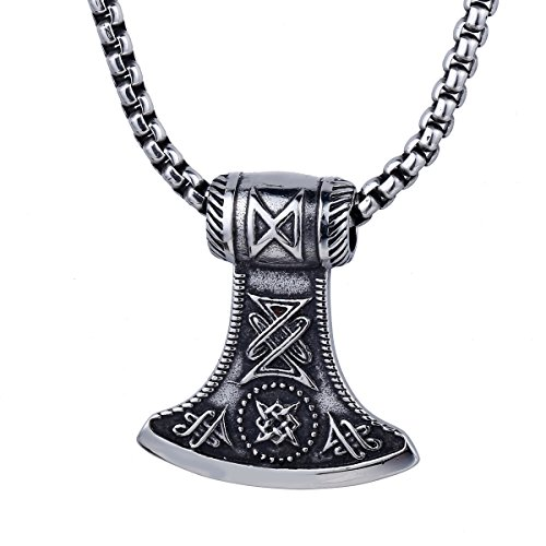 necklace jewelry stainless mens bead steel s plated link men black p chain chisel