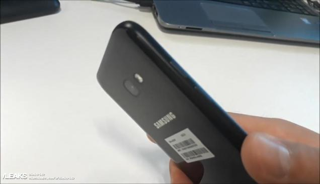 Parte posteriore del Galaxy A5 2017