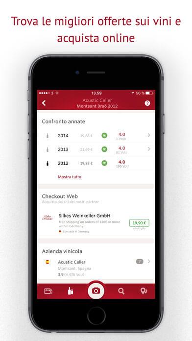Vivino: l'app per riconoscere tutti i tipi di vino 3