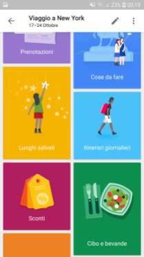 Google Trips Attività