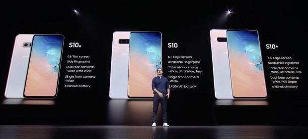 Galaxy Unpacked 2019: i nuovi Galaxy S10, S10+ e S10e 15