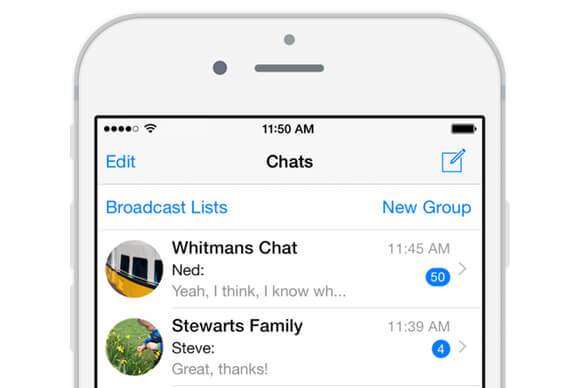 WhatsApp per iPhone: bloccare le chat con Touch ID e Face