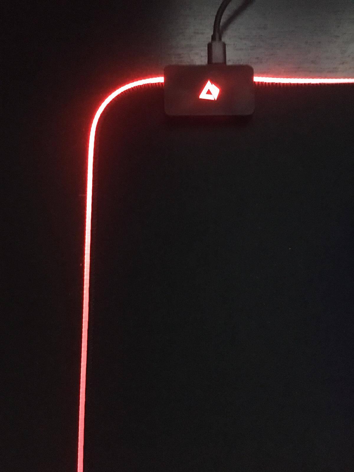 Recensione: AUKEY KM-P6 il mouse pad RGB 3