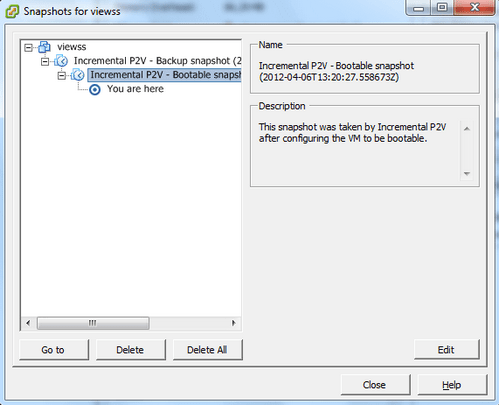 About the improved synchronize option in vCenter Converter