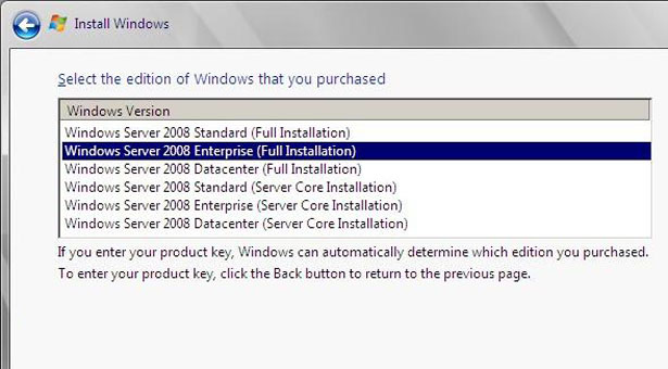 microsoft windows server 2008 standard product key