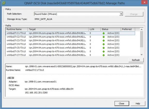 Configuring QNAP TS-670 iSCSI + vSphere 5 5 | viktorious nl