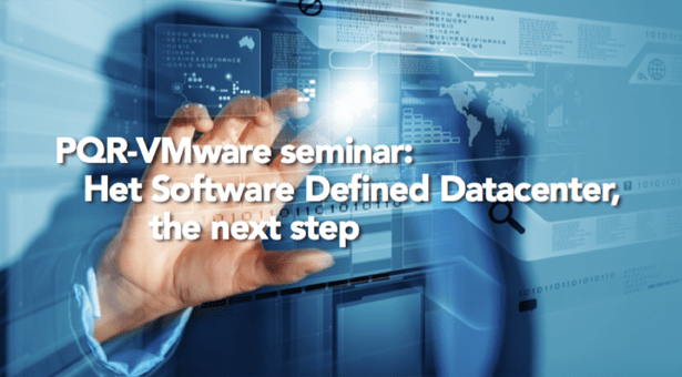 Free VMware seminar: Software Defined Datacenter, the next step!
