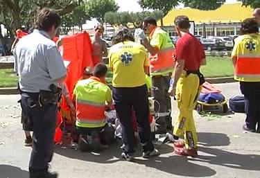 Paracaigudista atropellat
