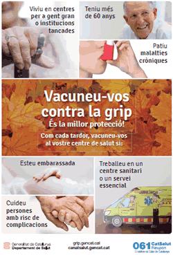 Campanya de vacunació antigripal