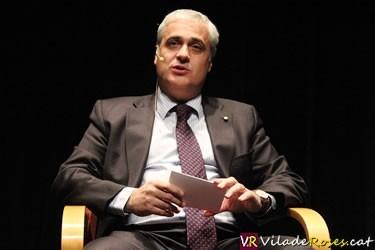 Conferència a Roses del conseller de Justícia, Germà Gordó