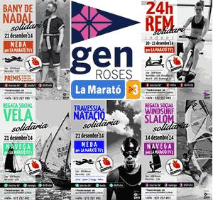 GEn Roses amb La Marató