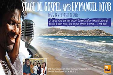 Estatge de gospel a Roses amb Emmanuel Djob