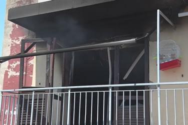 Incendi en un pis de Figueres