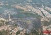 Incendi forestal a Girona