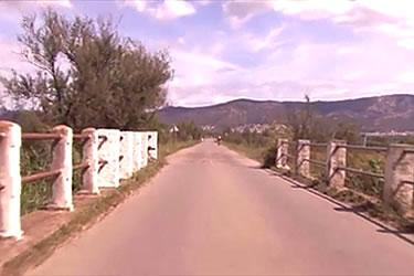 Carretera dels 3 ponts als Aigumolls de l'Empordà
