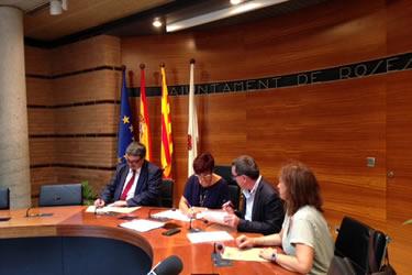Conveni Generalitat i Comerç de Roses