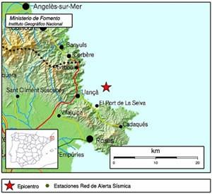 Terratrèmol a l'Alt Empordà