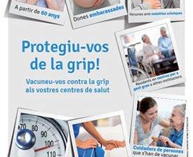 Campanya de vacunació antigripal a Catalunya