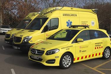 Noves ambulàncies a la Regió Sanitària de Girona
