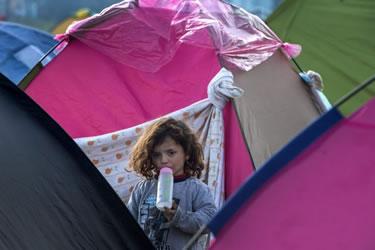 Camp de refugiats d'Idomeni, Grècia