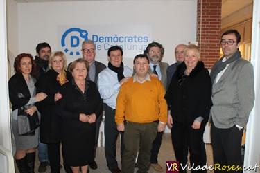 Demòcrates de Catalunya a Roses