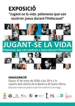 """""""Jugant-se la vida: polonesos que van socórrer jueus durant l'Holocaust"""""""